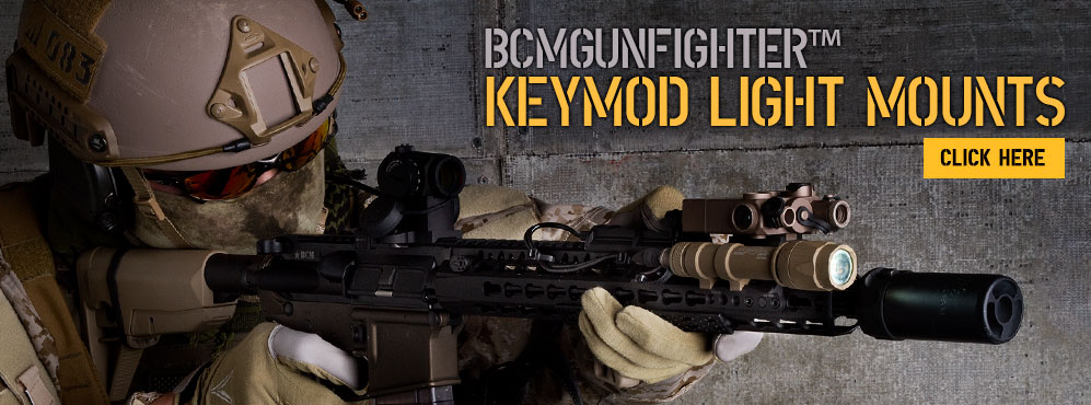 BCMGunfighter KeyMod Light Mounts.